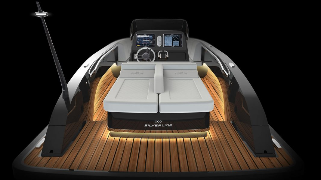 Tenders for superyachts and composite boats and luxury interior design for yachts by Hamid Bekradi