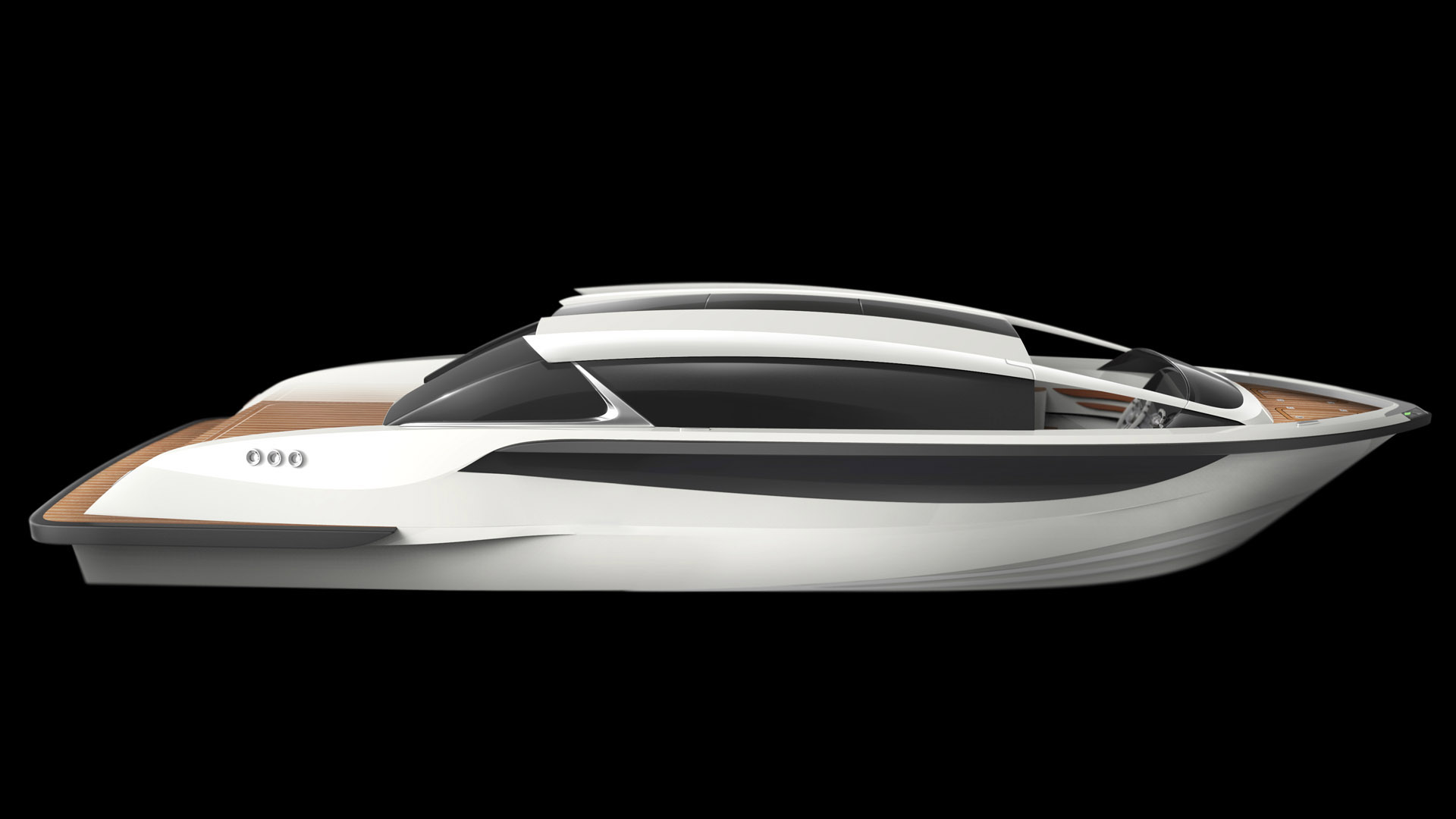 Superyacht tenders and limousines for luxury yachts design by Hamid Bekradi