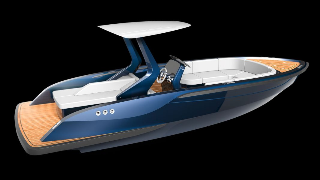Superyacht tenders and composite boats and luxury yachts design by Hamid Bekradi