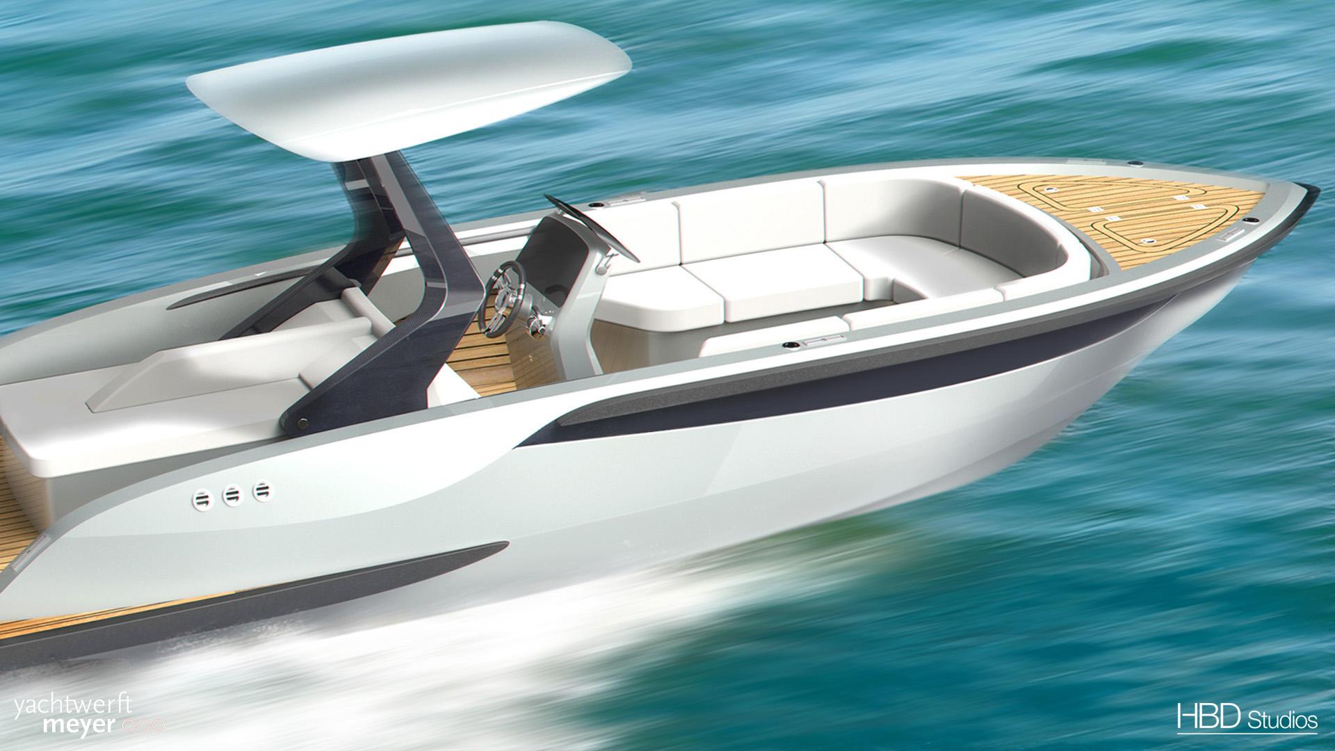 luxury tender designed bt H.Bekradi
