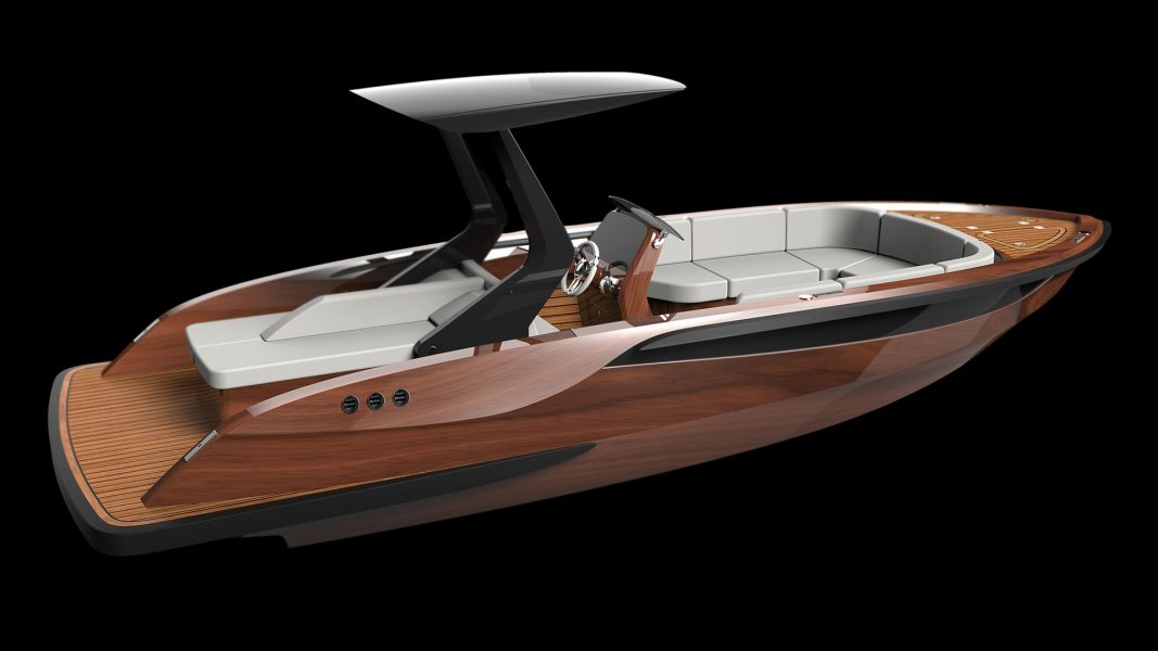 Superyacht Tenders and wooden boats for superyachts design by Hamid Bekradi