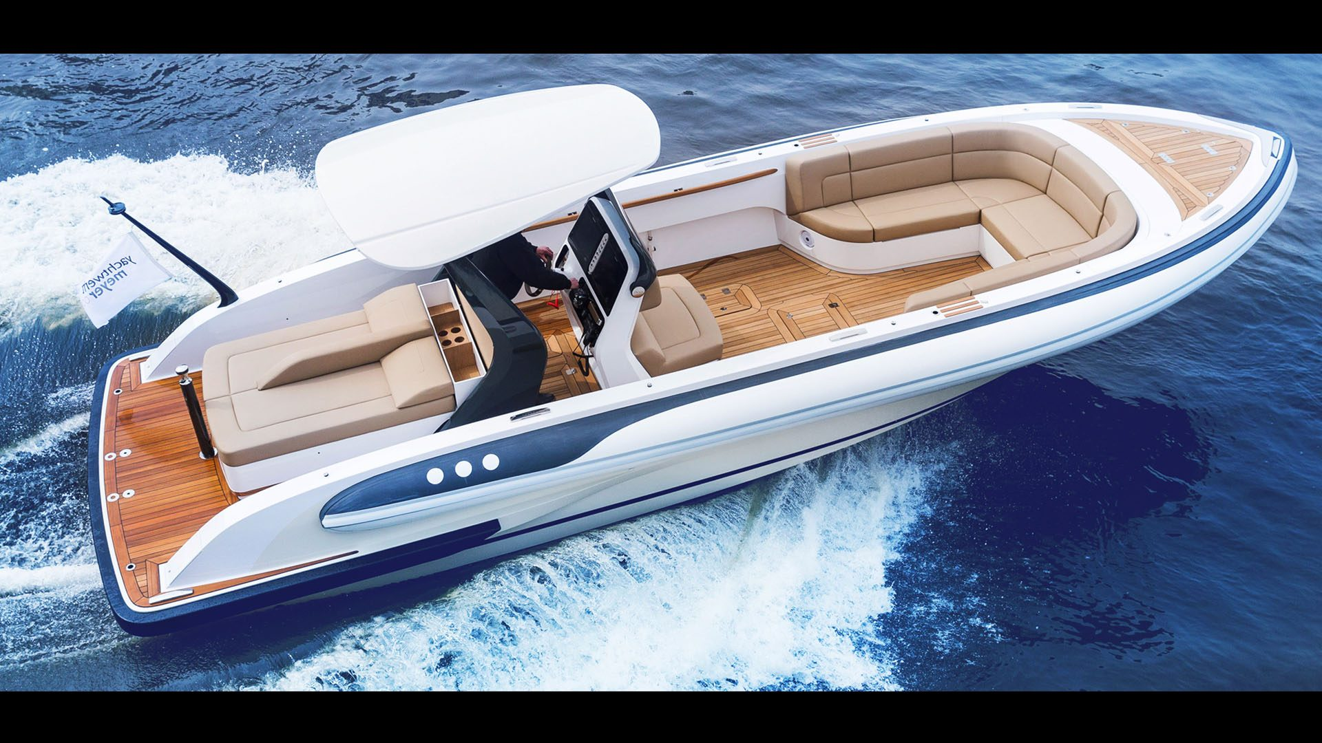 Rib boat Silverline is a luxurious superyacht tender designed by Hamid Bekradi of HBD Studios manufactured in Germany