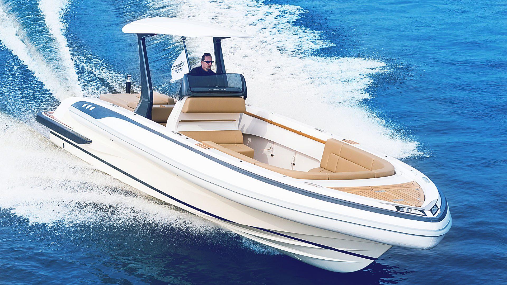 Rib boat tender yacht design by Hamid Bekradi