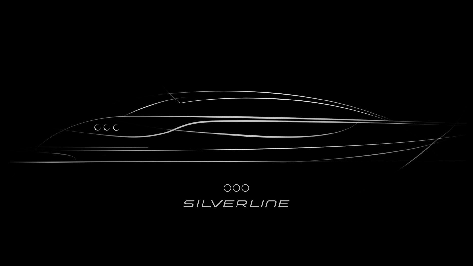 Sketch of a Luxurious Limousine tender yacht design by H.Bekradi