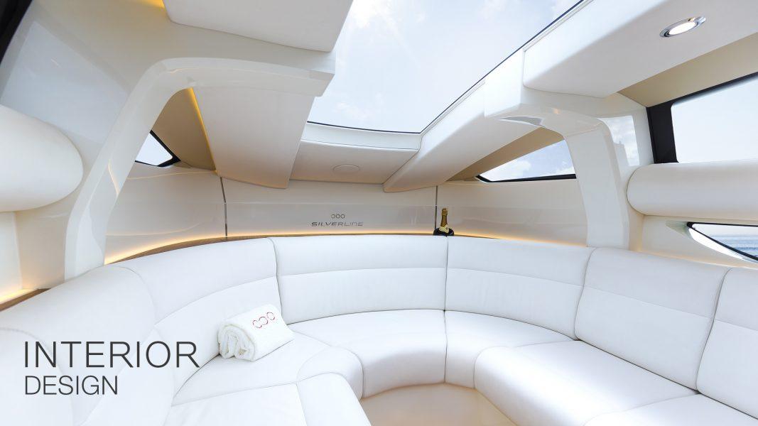 Superyacht Tender Interior design by Hamid Bekradi of HBD Studios