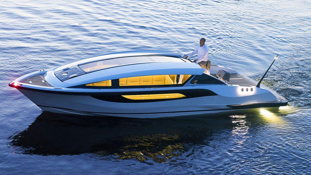 Superyacht tender boat design by Hamid Bekradi Silverline tender series