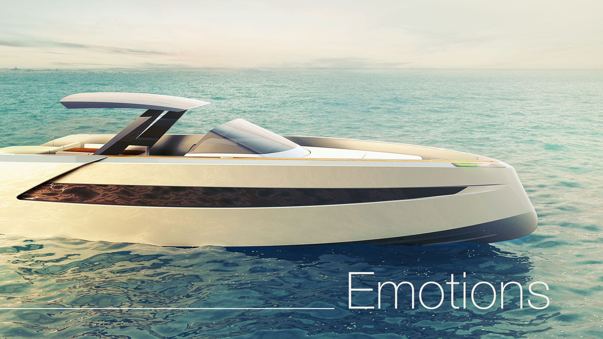 luxury powerboat Phantom design by Hamid Bekradi