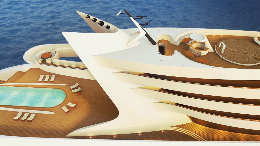 yacht interior superyacht L'Amage yacht design by visionary designer hbekradi